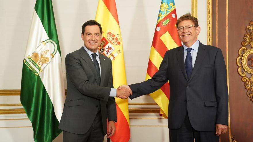 En directo   Rueda de prensa de Juanma Moreno y Ximo Puig