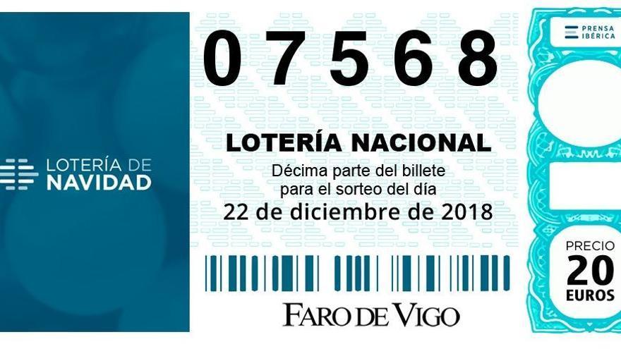 Quinto premio de la Lotería de Navidad 2018, en Abegondo y Val do Dubra