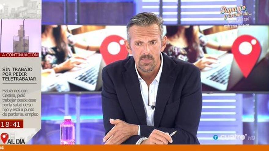 """Joaquín Prat corta la entrevista con un negacionista: """"Hasta nunca"""""""