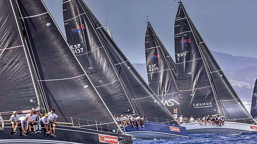 Tres flotas monotipo ClubSwan competirán en la Copa del Rey Mapfre