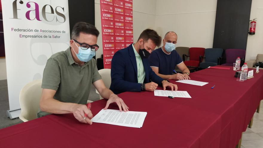 Patronal y sindicatos de la Safor muestran su apoyo sin fisuras al proyecto de la CV60
