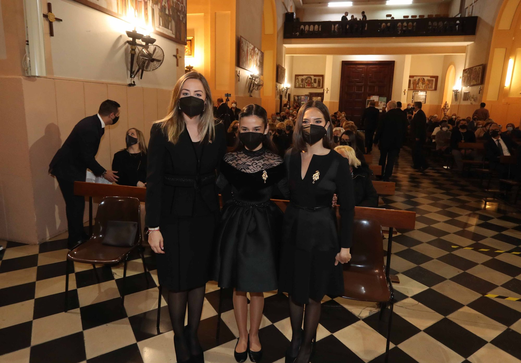 Semana Santa Marinera: Marina Civera y Sara Larrazábal repiten cargo con la Dolorosa