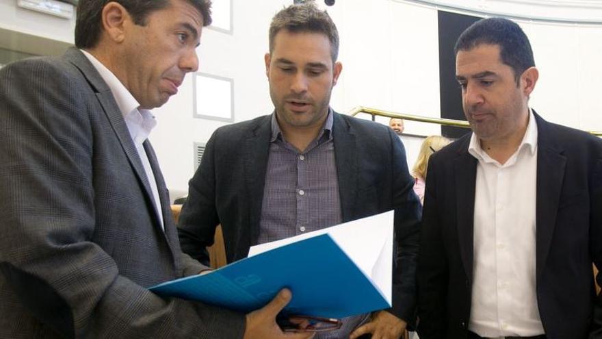 El PSPV sigue la estela de Murcia y ofrece una moción de censura a Ciudadanos en la Diputación