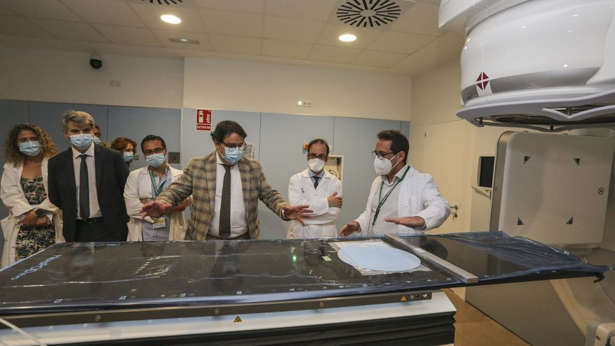 Los enfermos de cáncer podrán recibir radioterapia en unos días