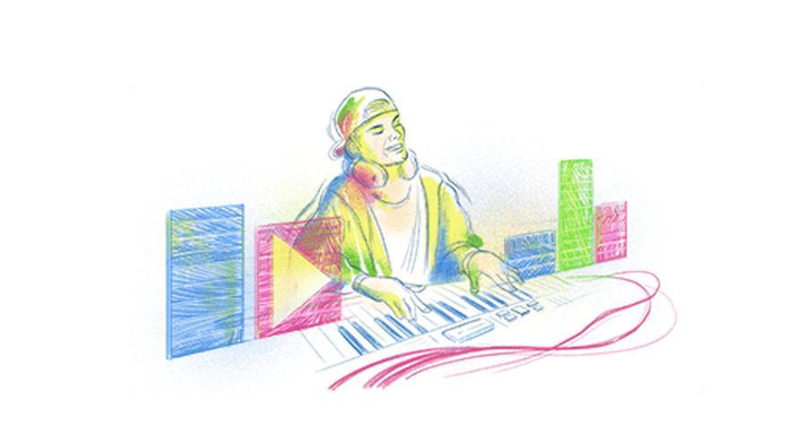 Google rinde homenaje a Avicii en su doodle