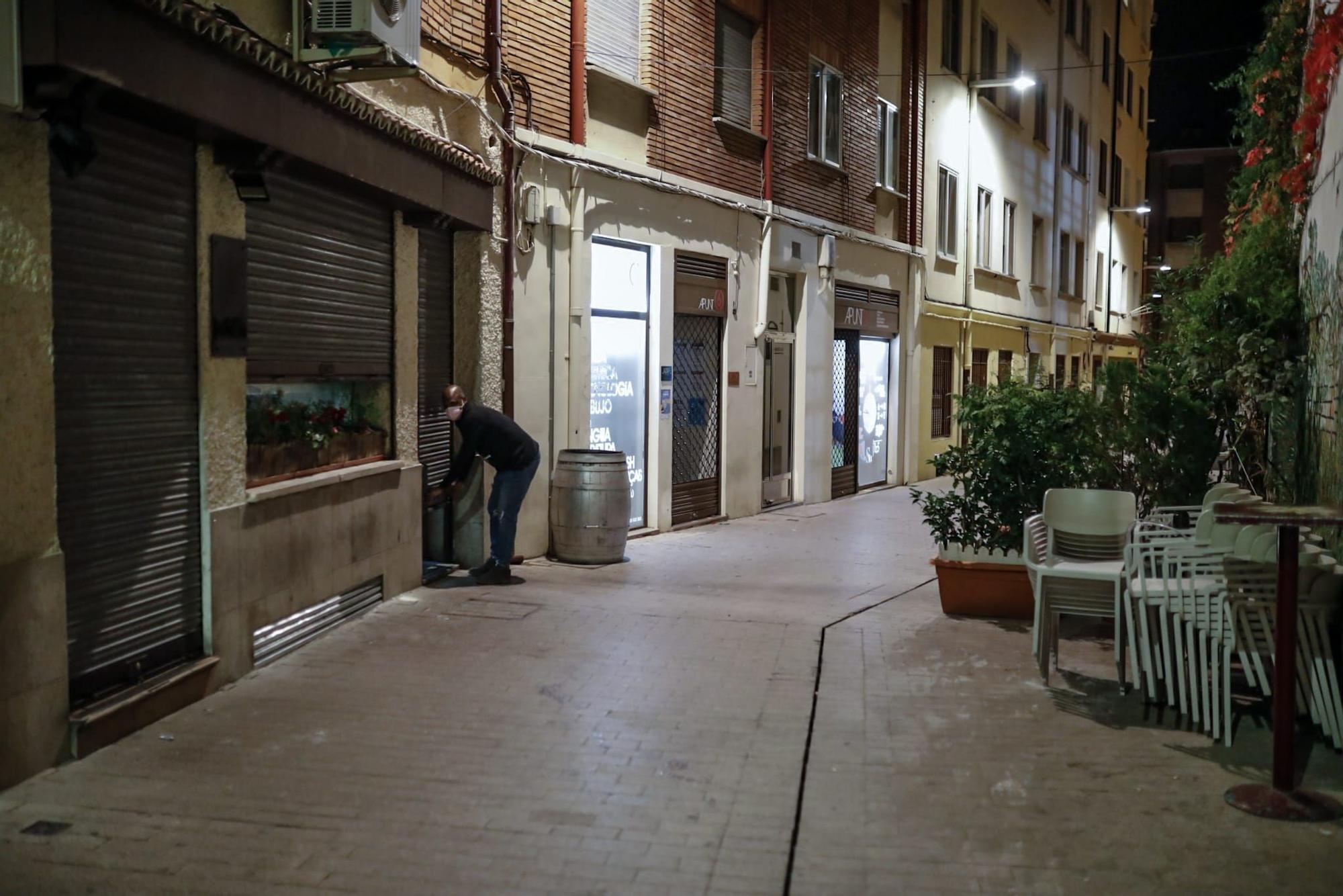 Zamora, en toque de queda