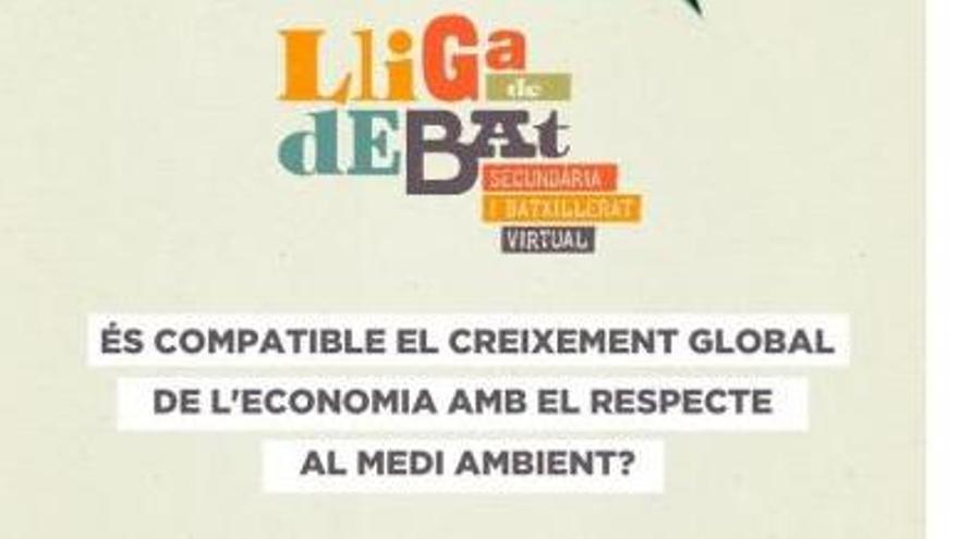 La UA organiza la fase local de la Lliga de Debat de Secundaria y Bachillerato en formato virtual