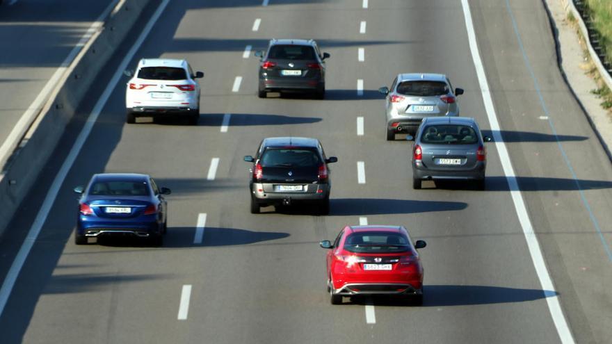 Uns 460.000 cotxes han sortit de Barcelona pel pont de la Mercè, un 15% més del previst