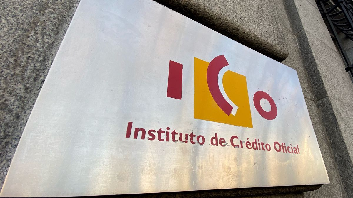 Placa con el logo del ICO.