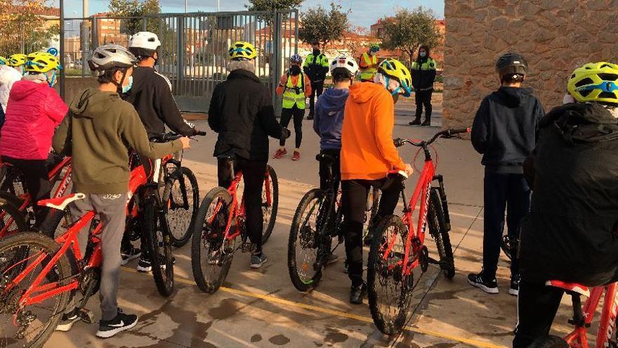 Aula ciclista del IES Broch i Llop de Vila-real