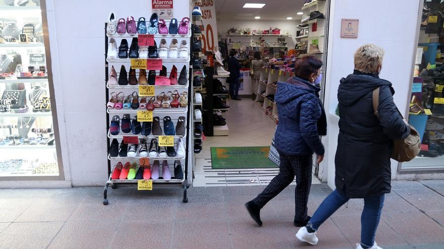 Los contratos en el comercio cayeron un casi 20% en Málaga pese a las rebajas de enero