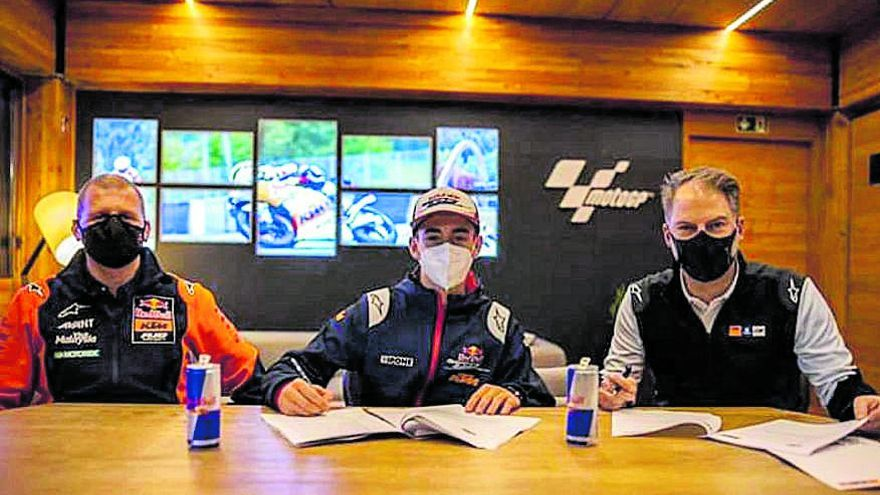 Pedro Acosta firma con KTM Ajo para debutar en Moto3 en 2021