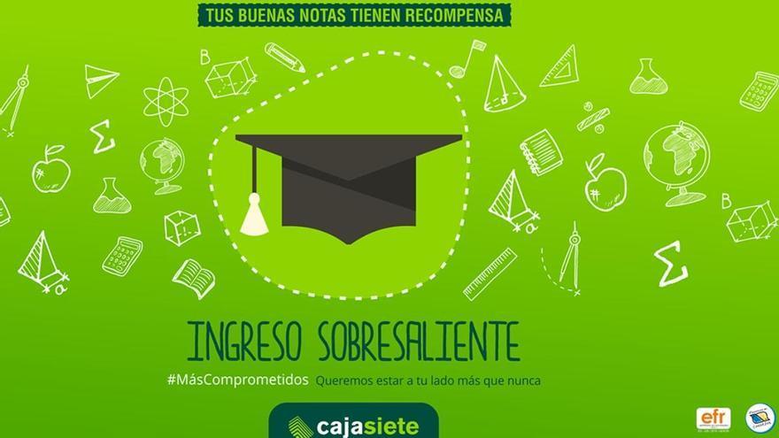 """Cajasiete presenta el """"Ingreso Sobresaliente"""" como ayuda a los jóvenes canarios"""