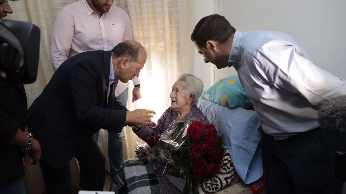 Josefina Villaverde también era la socialista afiliada más longeva de España.