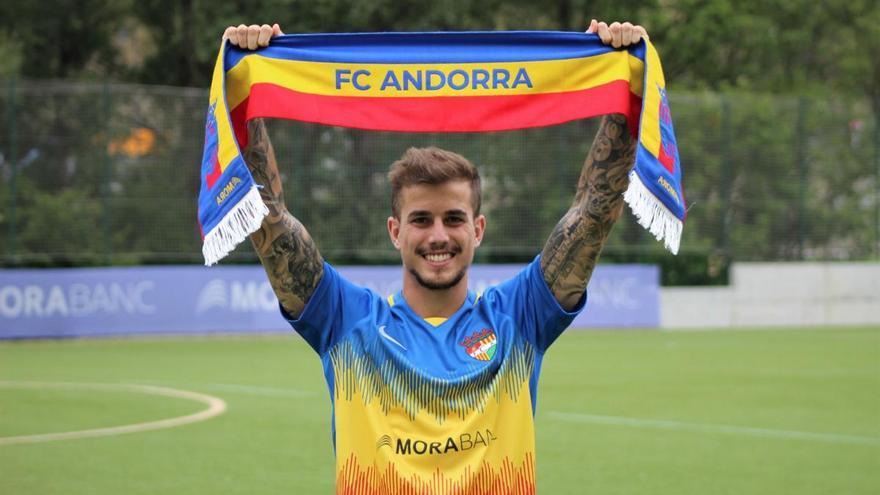 Isma Cerro, nuevo jugador del Andorra