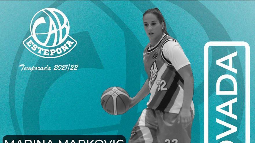 Marina Markovic renueva su compromiso con el CAB Estepona