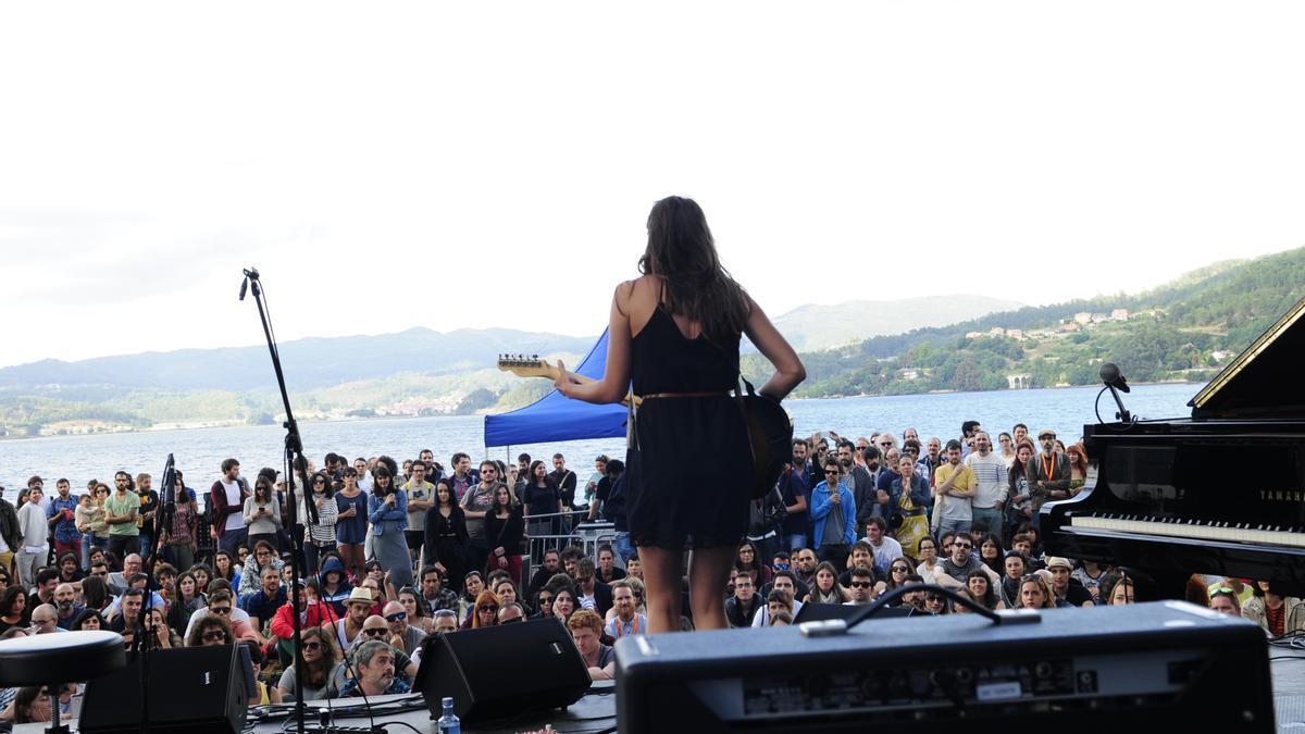 Un concierto del Sinsal en San Simón, en ediciones anteriores