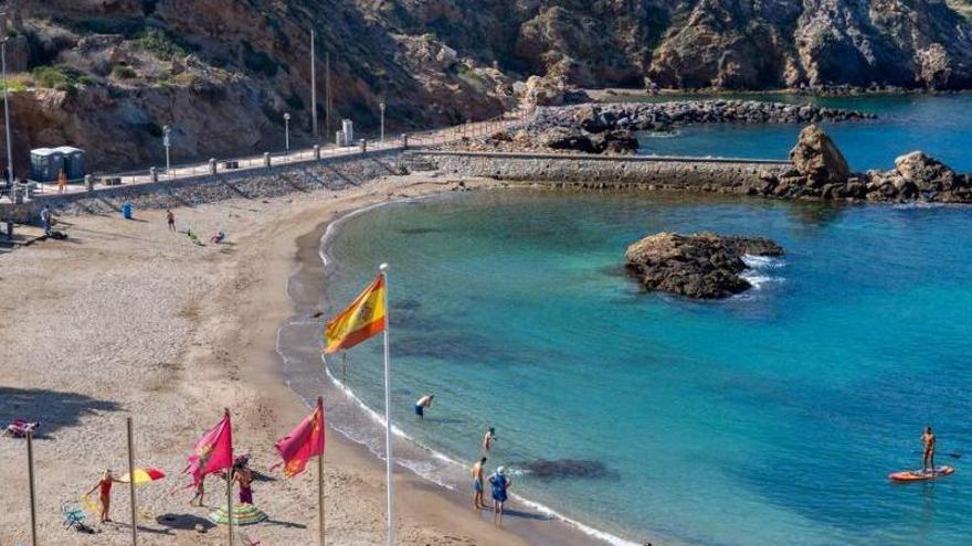Banderas Azules 2021: las playas de Murcia que lucirán el distintivo este verano