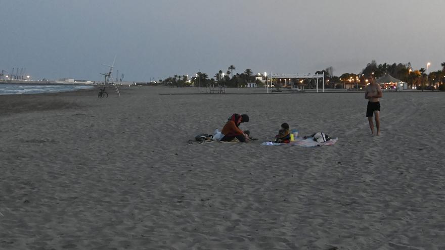Estrictos controles en las playas de Castellón para evitar masificaciones en Sant Joan