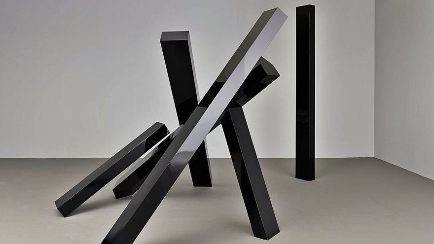 Herminio dialoga con el minimalismo