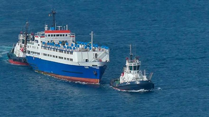 El Puerto de Cartagena defiende que no existe razón jurídica para la entrada del buque Elbeik