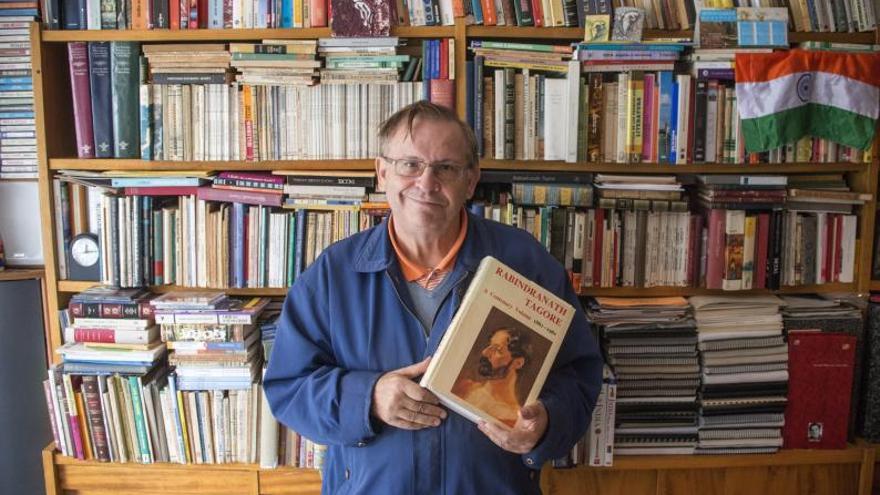 Muere José Paz, el profesor ourensano que dedicó su vida al estudio de Tagore