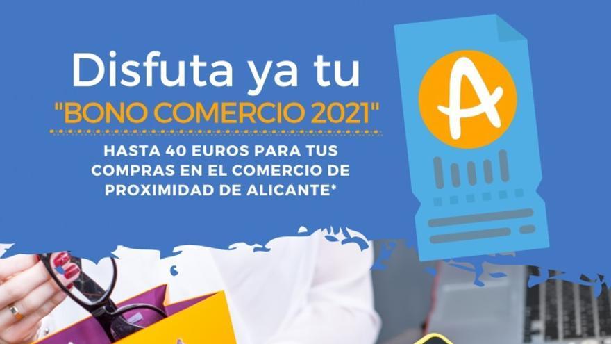 Solicitados algo más de 6.000 de los 10.000 bonos comercio de Alicante