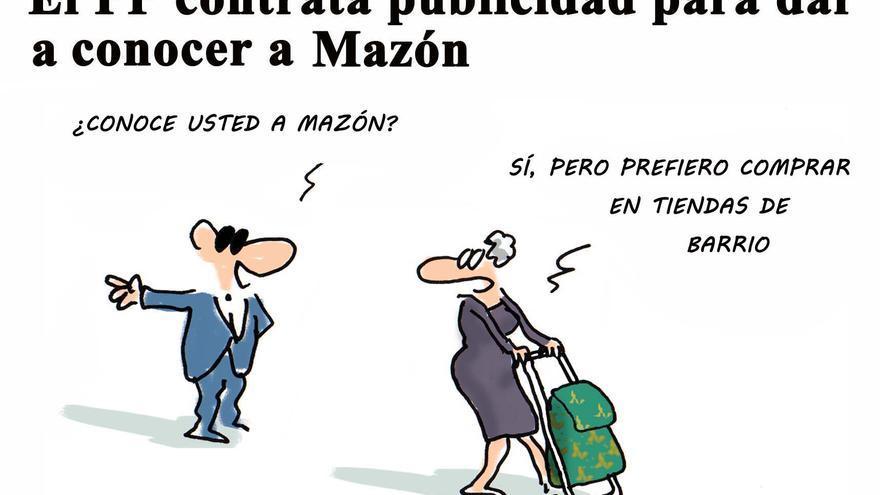 El PP contrata publicidad para dar a conocer a Mazón
