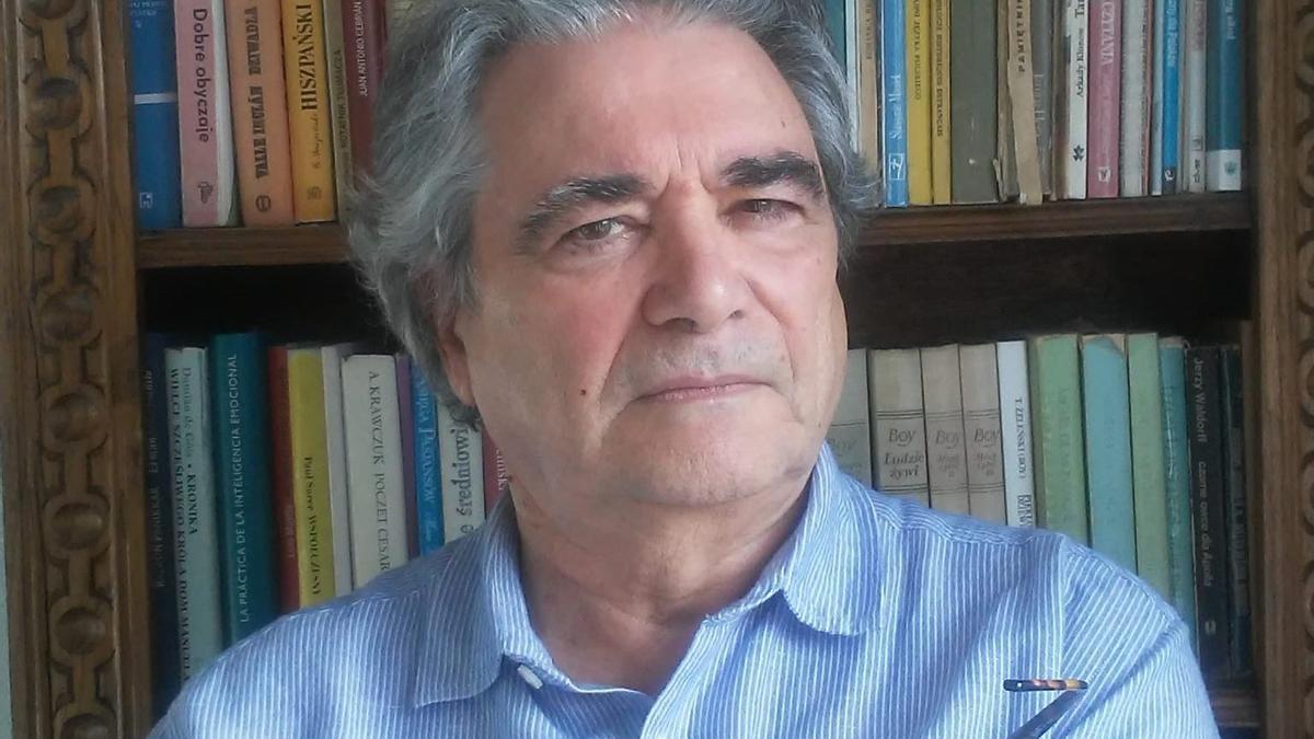 Juan José Fernández Delgado, autor de 'la Golondrina'.