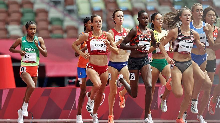 Esther Guerrero s'enfonsa a la recta i queda fora de les semifinals dels 1.500 m