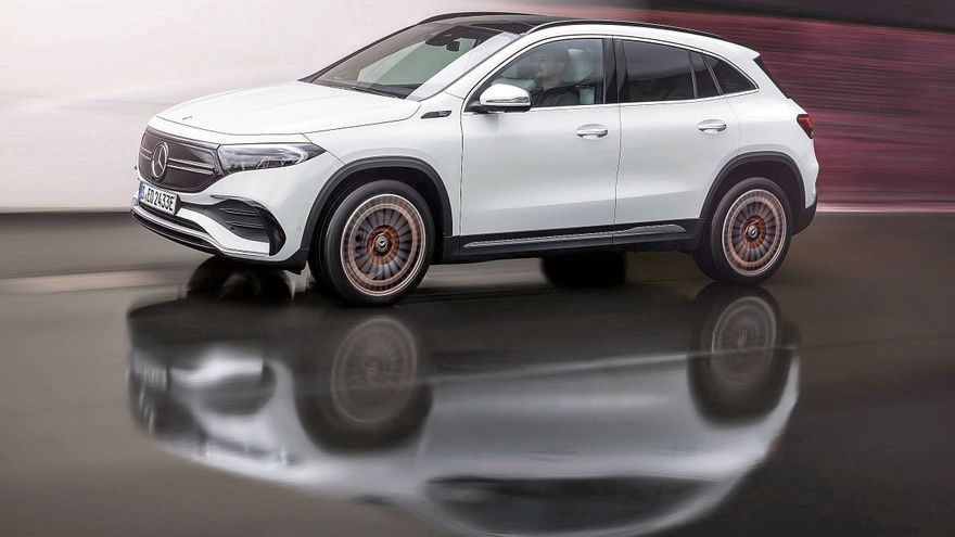 Mercedes-Benz EQA . SUV, deportivo y 100% eléctrico