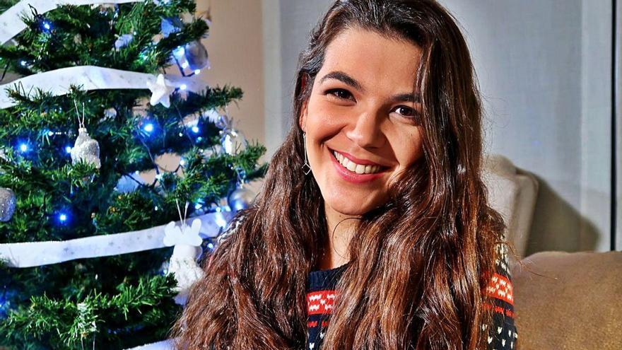 Marina Pratcorona: «He escrit una cançó perquè aquest Nadal no ens podem reunir»