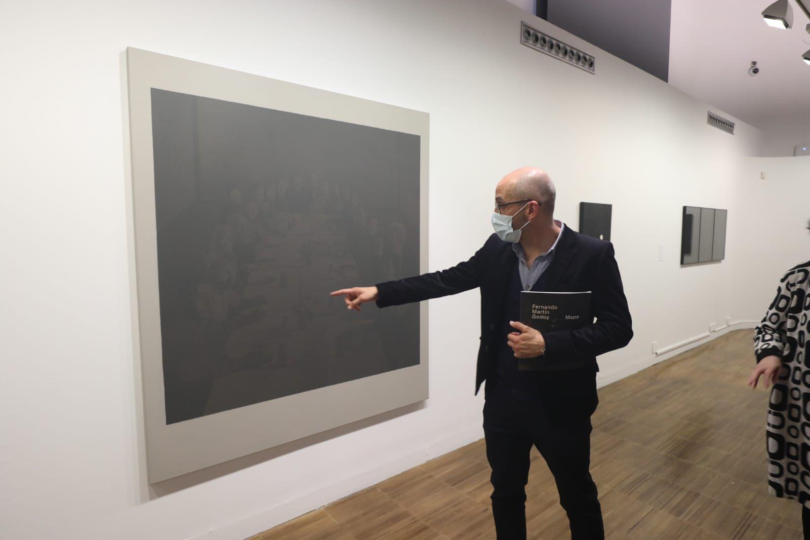 Presentación de 'Mapa', la última exposición de Martín Godoy.