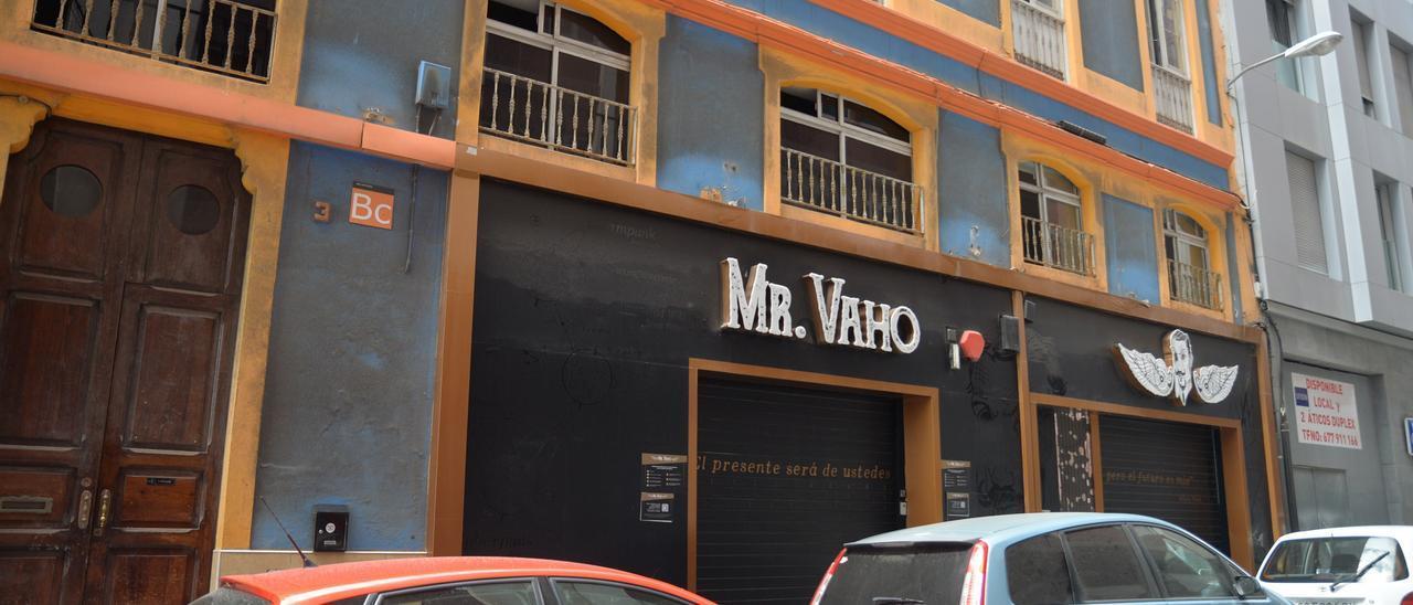El local de ocio nocturno Mr. Vaho afectado por las restricciones sanitarias
