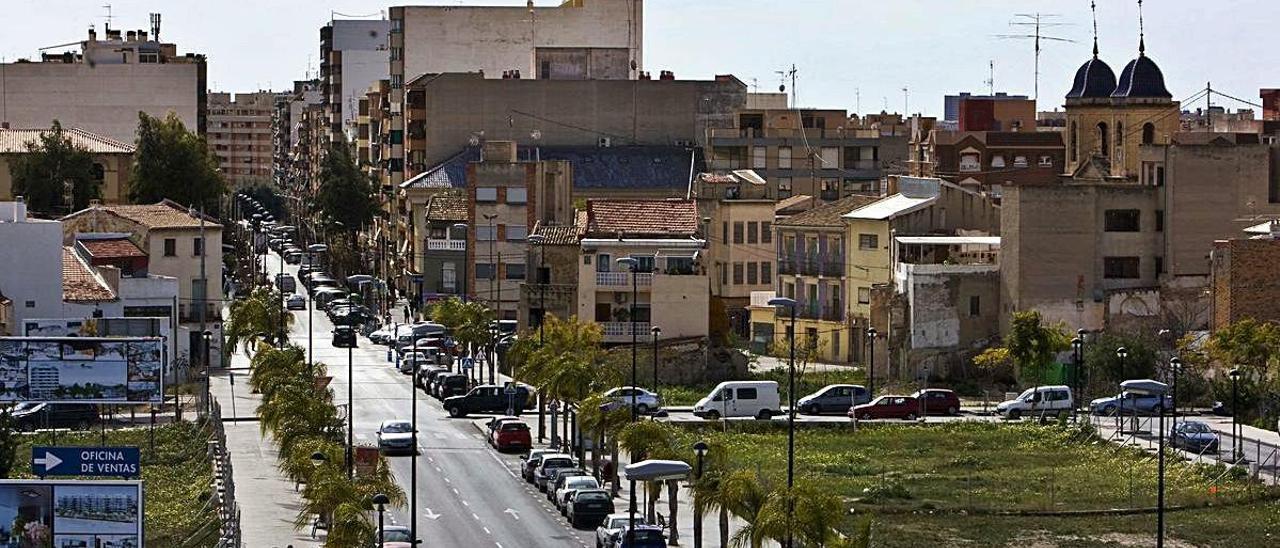 Vista de Sant Joan d'Alacant, municipio de mayor renta entre los de más de 20.000 habitantes.