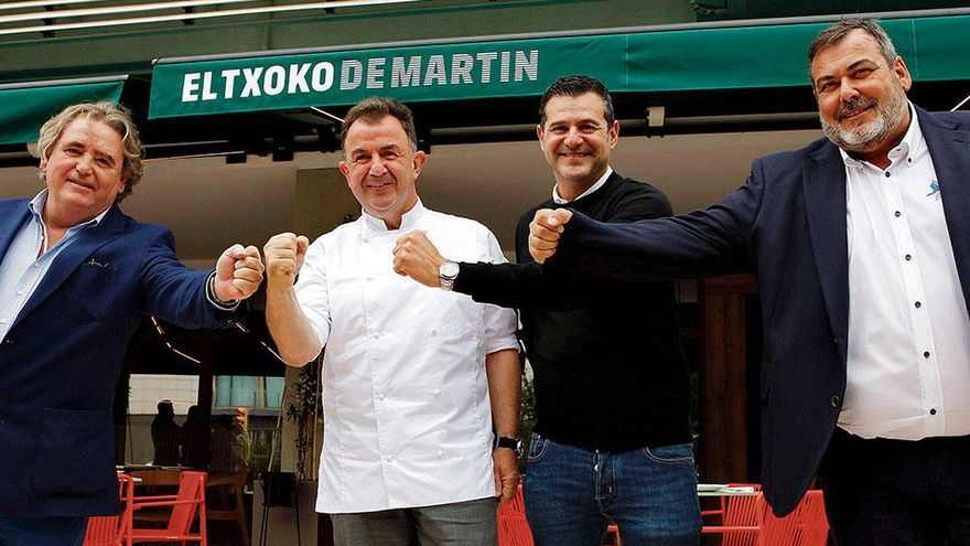 12-Sterne-Koch Martín Berasategui eröffnet Lokal in Palma