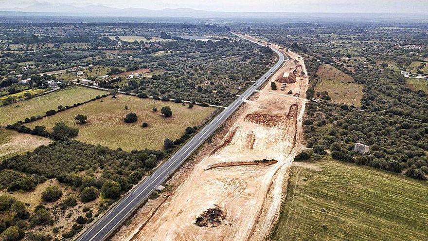 El Consell pagará 1,3 millones más por las obras de la autopista de Llucmajor