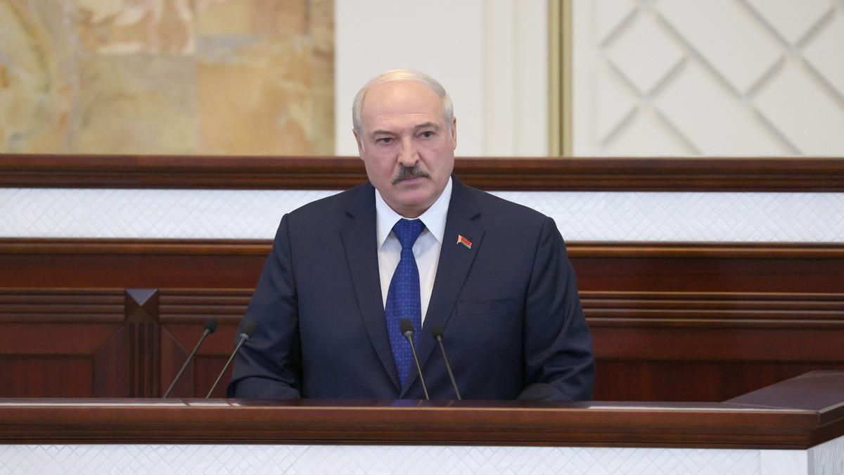 Aleksandr Lukashenko, presidente de Bielorrusia.