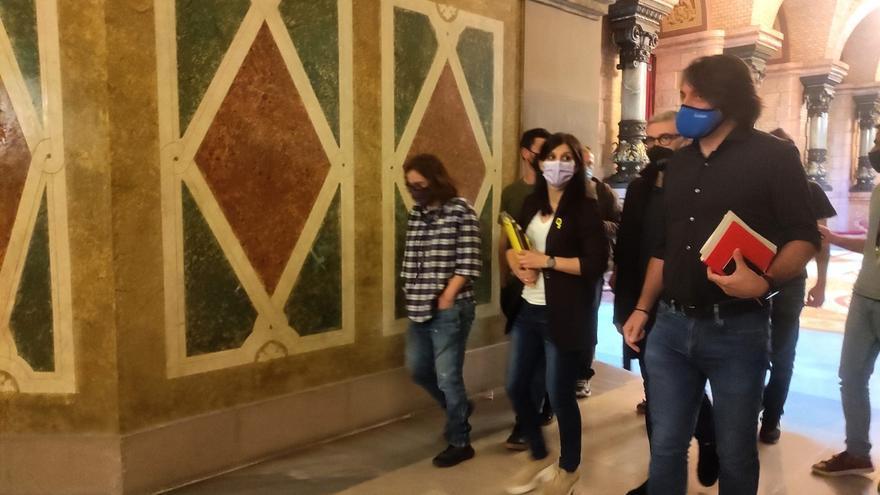 ERC, JxCat y CUP llegan a un pacto de mínimos para romper el bloqueo político catalán