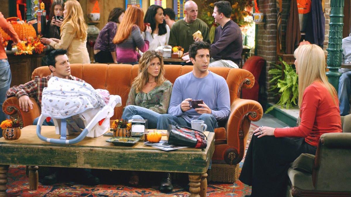 Imagen de un capítulo de 'Friends'