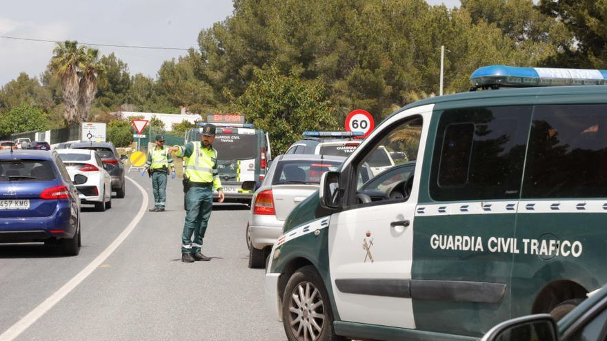 Muere un motorista de 34 años en un accidente de tráfico en Ibiza