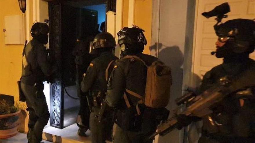 Diez detenidos en Cádiz en una operación antidroga