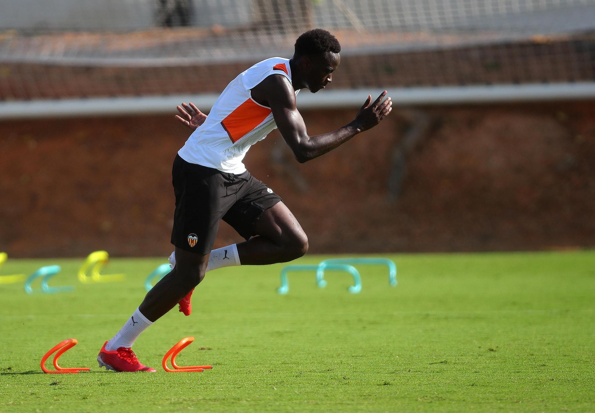 Así ha sido el entrenamiento de hoy del Valencia CF
