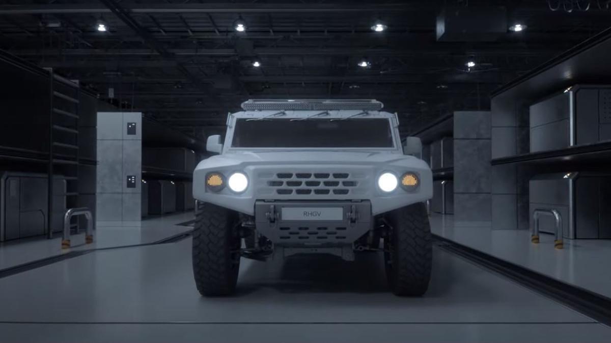 RHGV: Así es el nuevo vehículo de rescate de hidrógeno de Hyundai