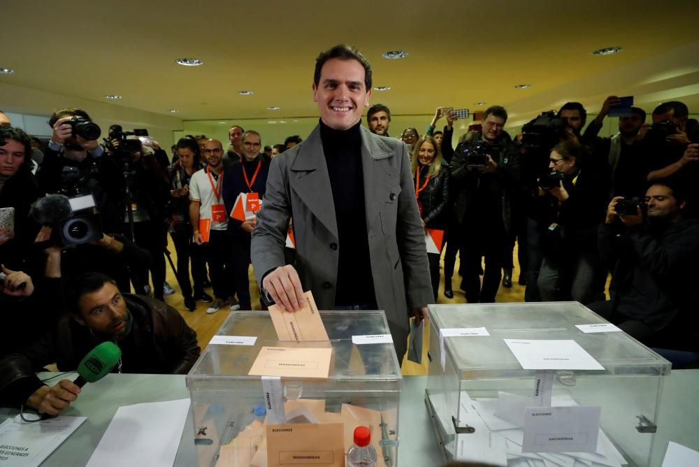Vota Albert Rivera (Cs)
