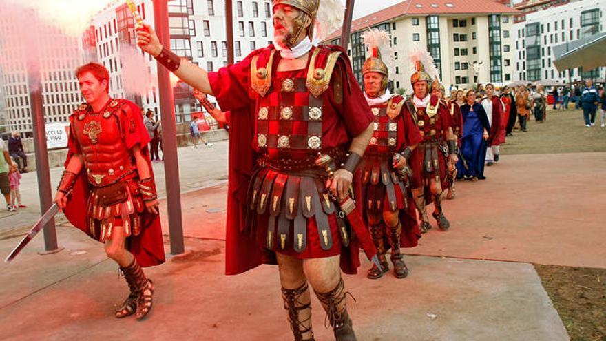 Vigo vuelve a la época romana