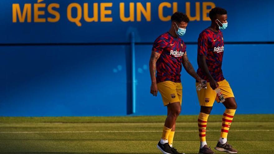 El Barça comença amb un triomf sobre el Nàstic l'aventura amb Koeman (3-1)