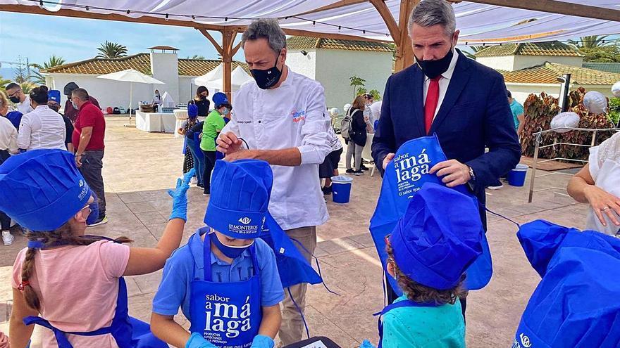 Chefs con estrellas Michelin enseñan a los menores una alimentación saludable