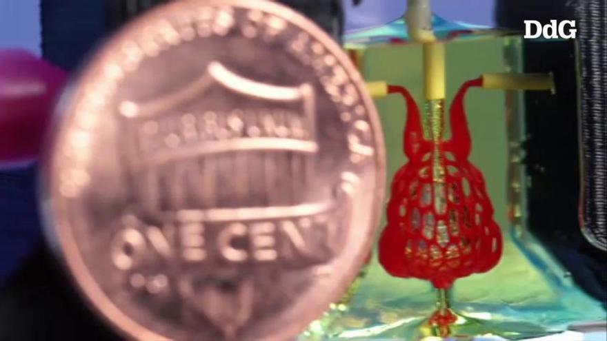Creen per bioimpresió 3D xarxes vasculars capaces de portar nutrients als òrgans