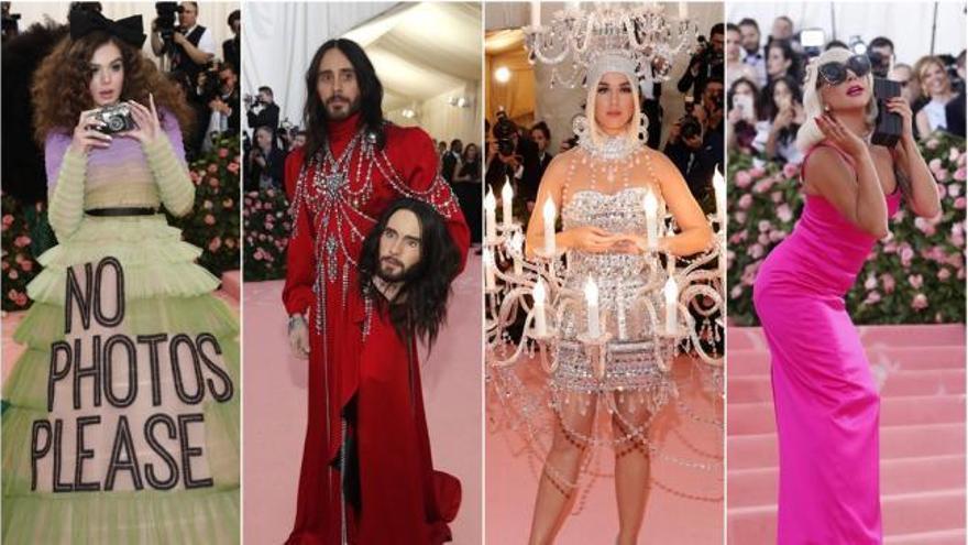 Excentricidad y estilo libre en la divertida gala Met celebrada en Nueva York